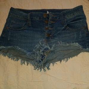 Elan jean shorts